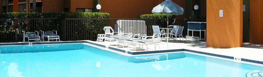 Sitting Pool Side